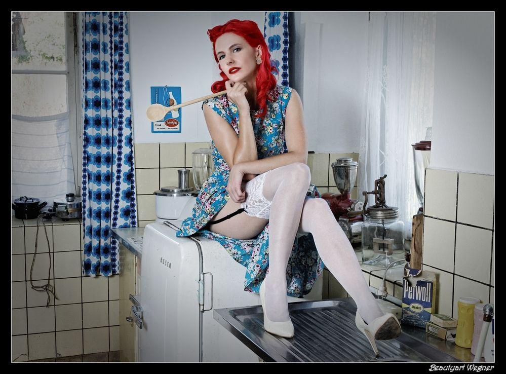 und in der Küche walte die züchtige Hausfrau ;-) Foto