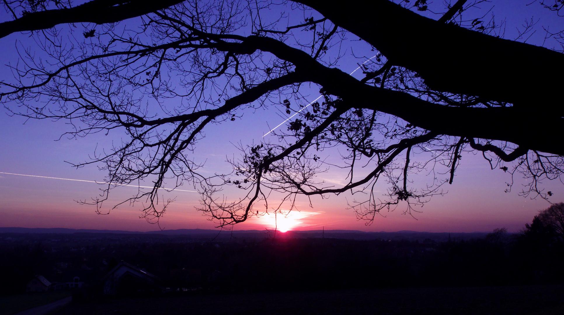 ...und noch ein Sonnenuntergang