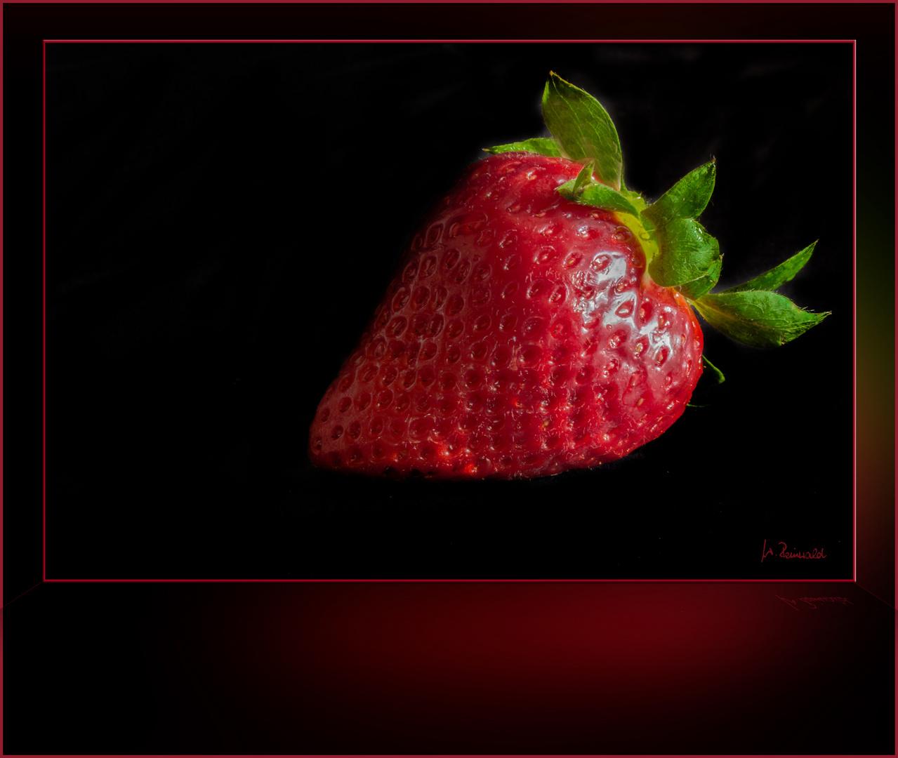 Und noch eine Erdbeere