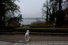 und noch eine herbstliche Sicht auf den Wannsee,