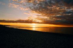 Und noch einen Sonnenuntergang