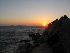 und noch einmal .... Sonnenuntergang am Kapari