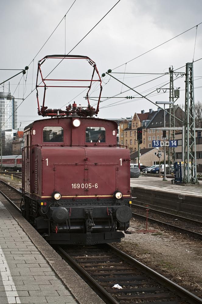 Und nochmal die Baureihe 169