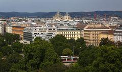 Und nochmal Wien von oben I