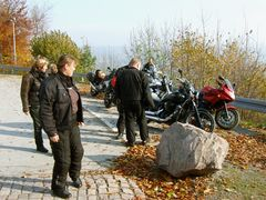 °°° Und schon sind wir da - nach einer schönen Herbstfahrt - auf der Augustusburg °°°