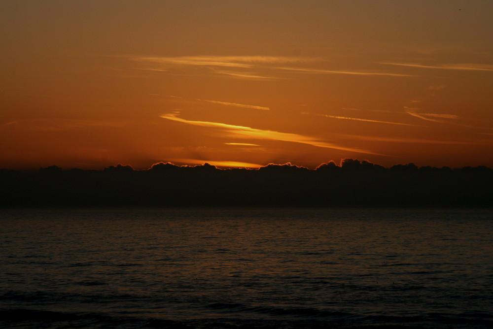 Und schon wieder ein Sonnenuntergang