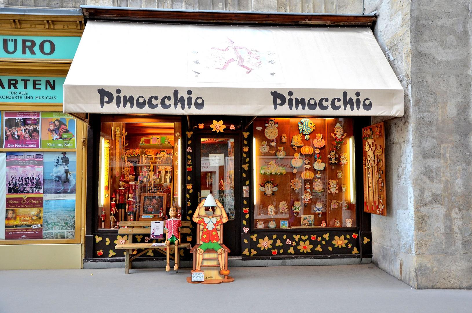 Und täglich wartet Pinocchio.