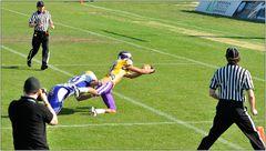 ... und Touchdown ...