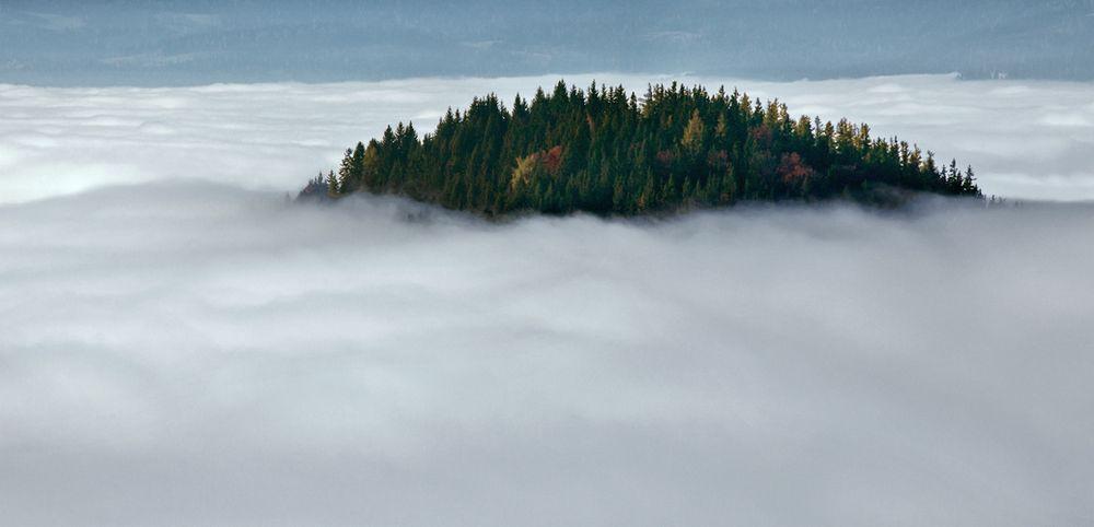 Und unter uns - die Nebelsuppe!