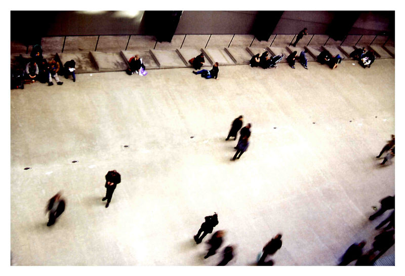 ...und vielleicht geh ich in die Tate Gallery.