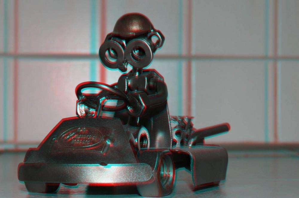 und wieder 3D-Kartmännchen
