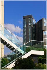 ..und wieder Treppen, eine schöner als die Andere