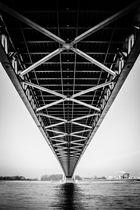 Under the bridge in Emmerich