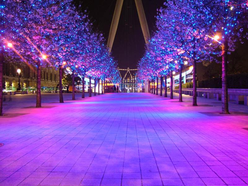 Under the London Eye