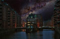 * under the Milky Way