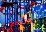 Under the Soarin' Eagle - A Coney Island Impression