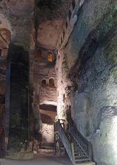 Une autre vue de l'Eglise monolithe Saint-Jean