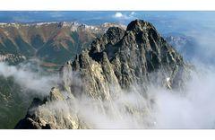 Une belle coulisse dans les montagnes