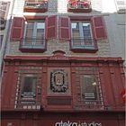 Une belle façade dans la vieille ville de Bayonne