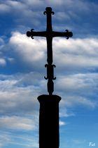 Une croix dans le ciel
