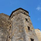 Une des tours du Château Gascon médiéval de Larressingle (Gers)