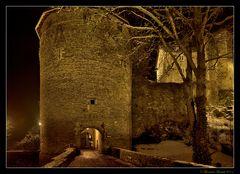 Une entrée du château