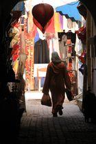 Une femme au marché