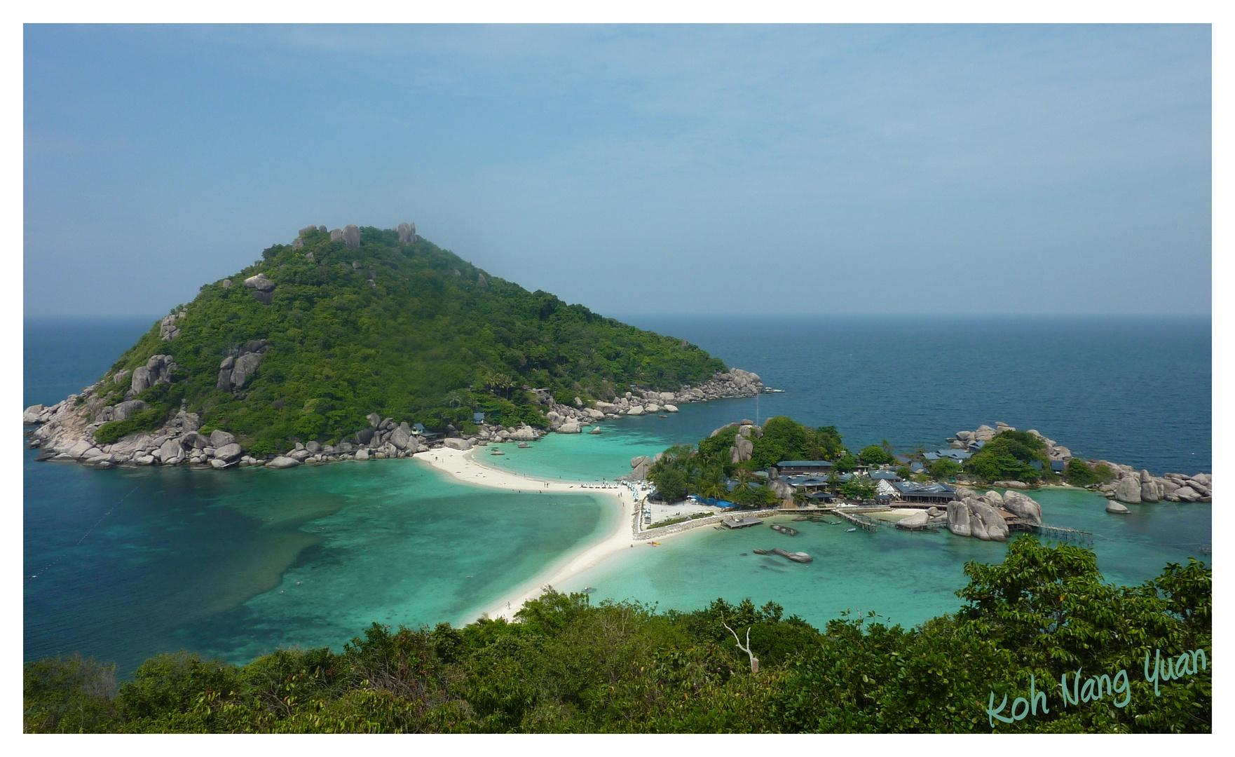 Une île paradisiaque!