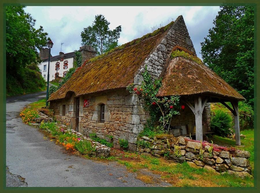 une maison bretonne photo et image architecture vieilles pierres sujets images fotocommunity. Black Bedroom Furniture Sets. Home Design Ideas