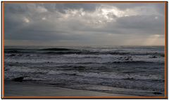 une mer d encre par gros temps....