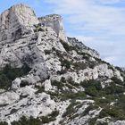une montagnette au dessus de la méditerranée