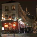 Une nuit à Paris - nächtliches Gedränge auf dem Montmartre