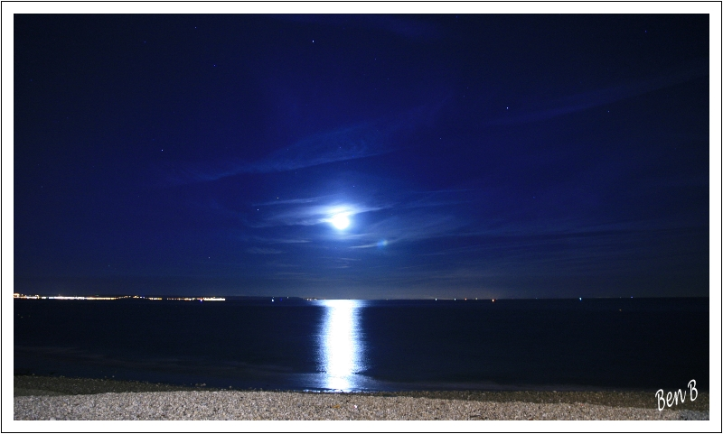 Une nuit au bord de mer