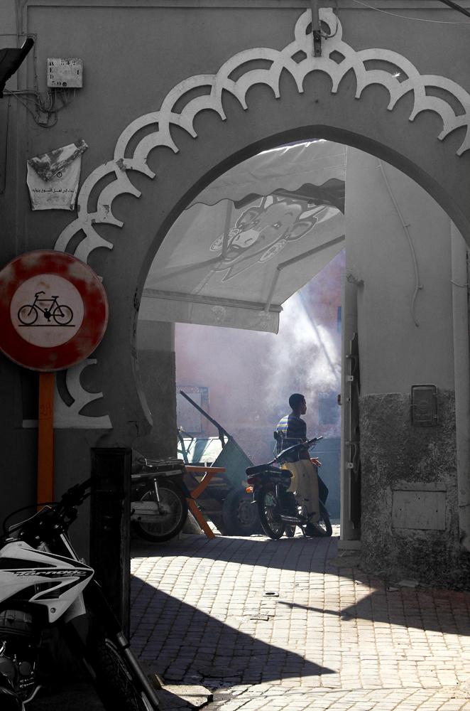 une porte d'entrée de la Medina Marrakech