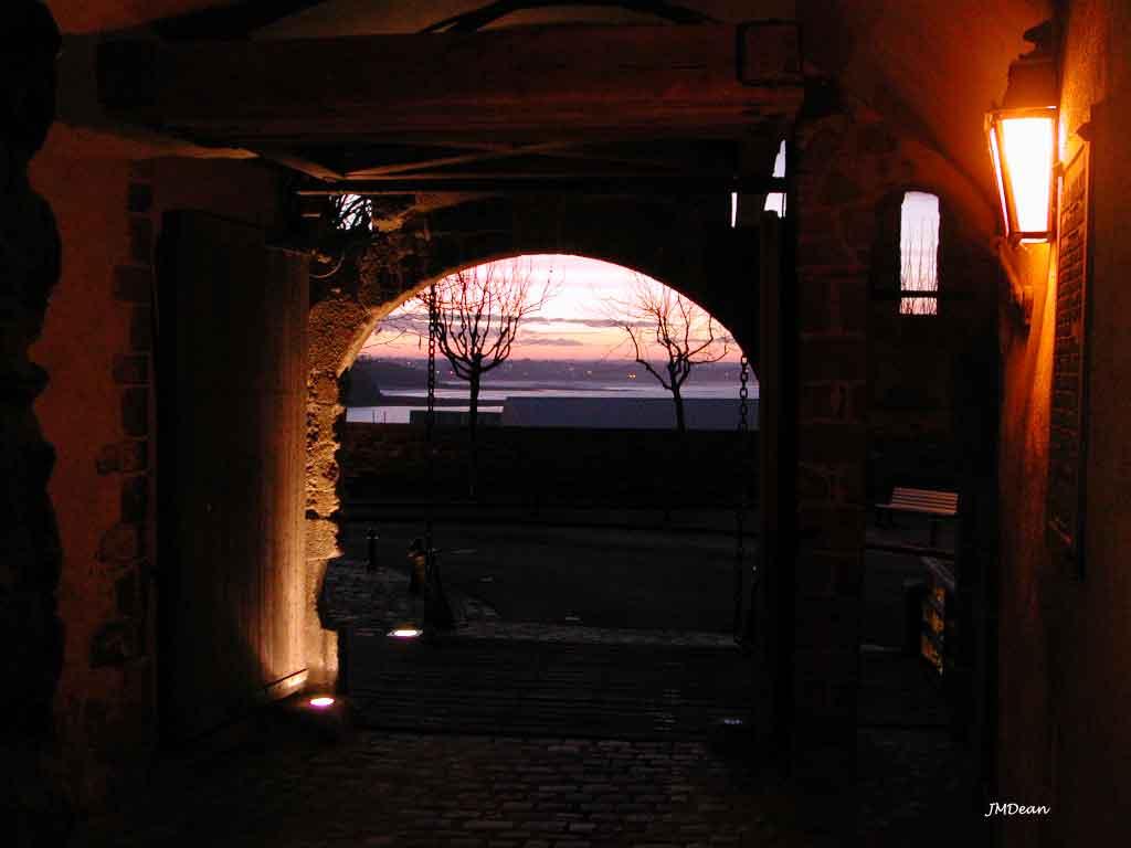 Une porte vers la mer