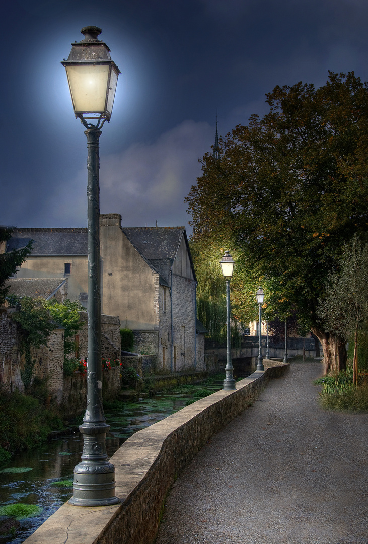 Une promenade romantique