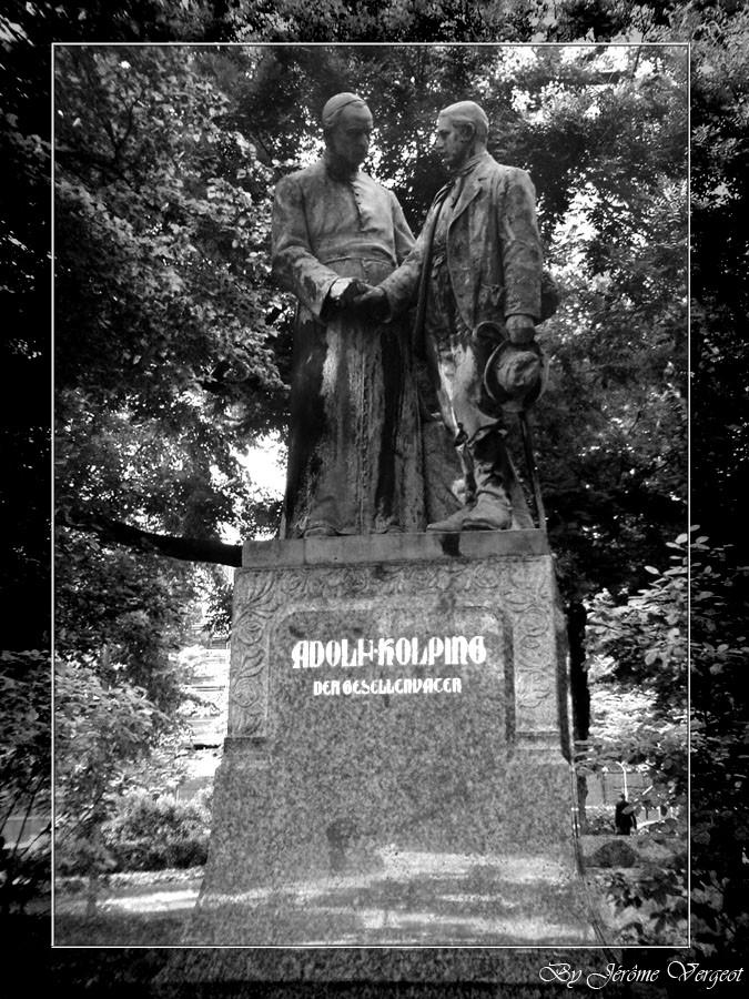 Une statue de Cologne