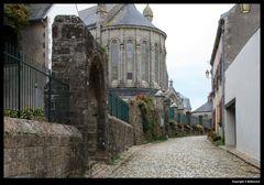 """"""" Une vieille rue de Pont Croix """""""