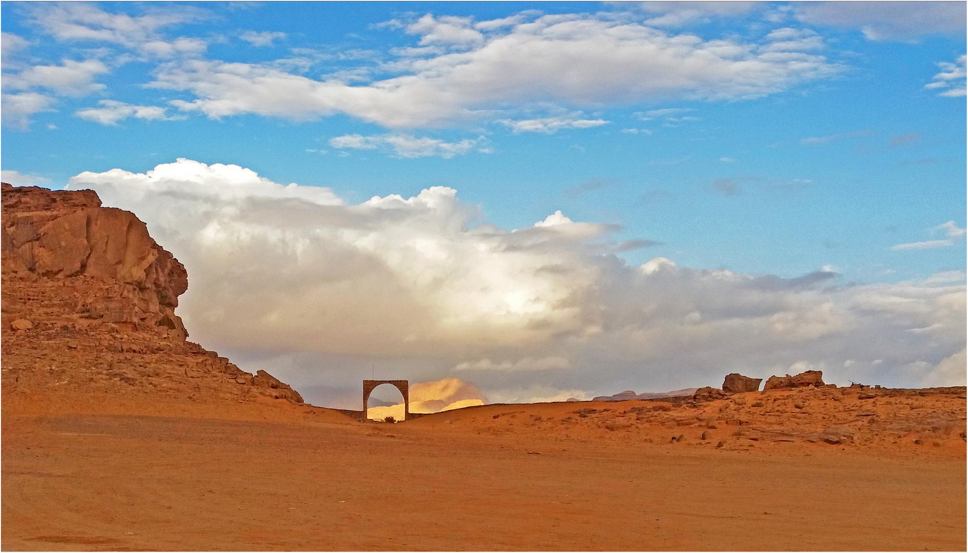 Une vue du Wadi Rum