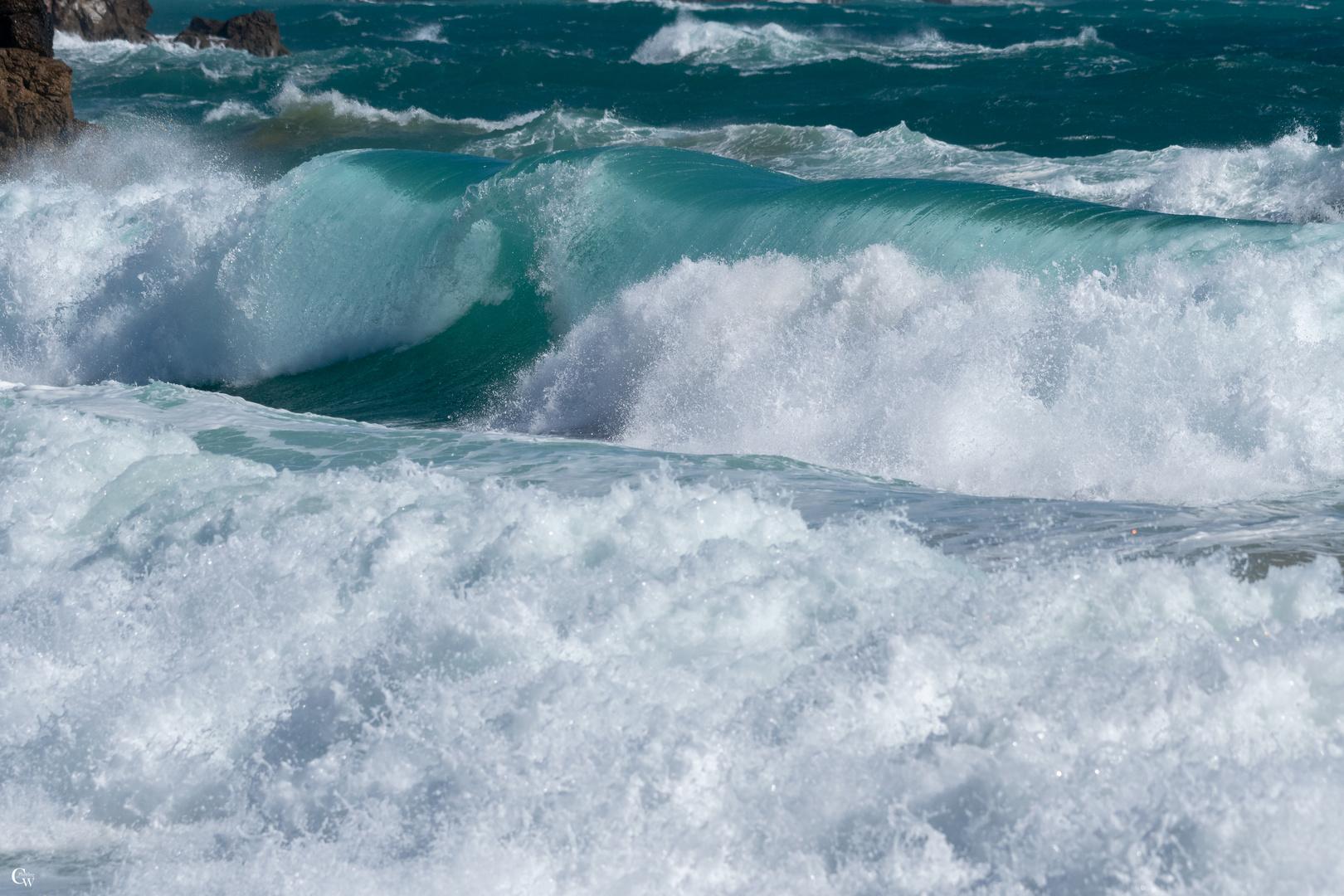 Unendlich schöne Wellen