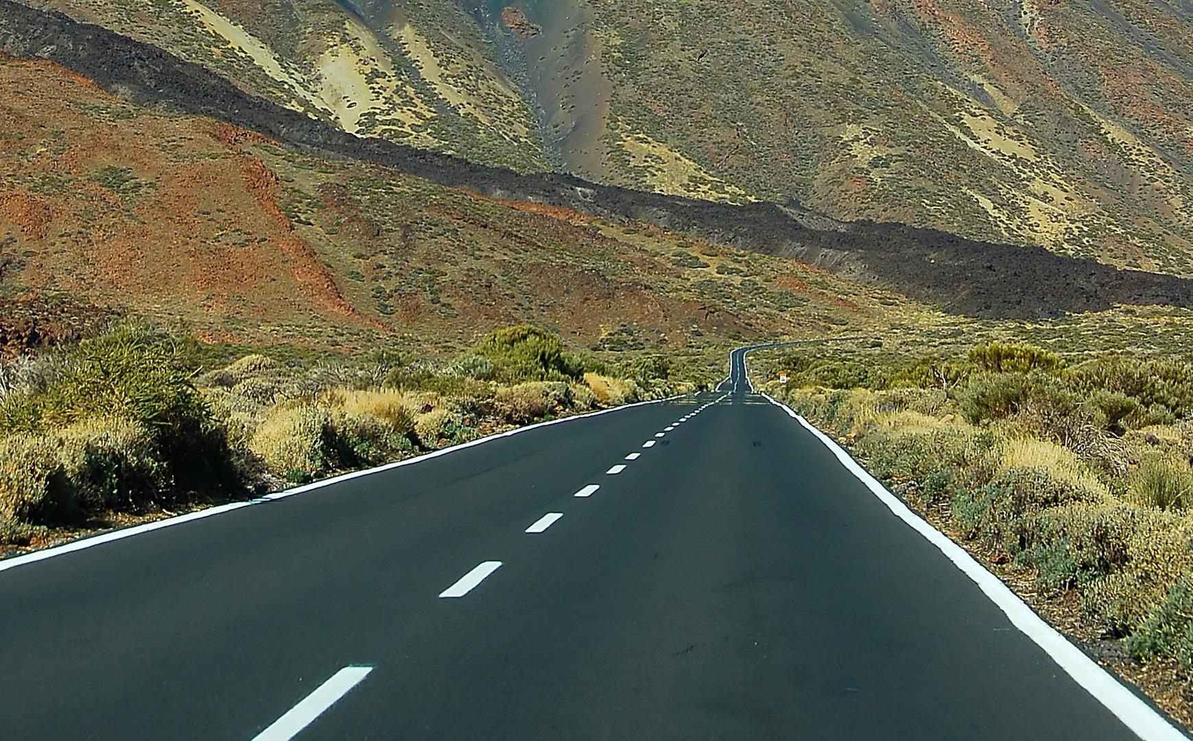 Unendliche Straße