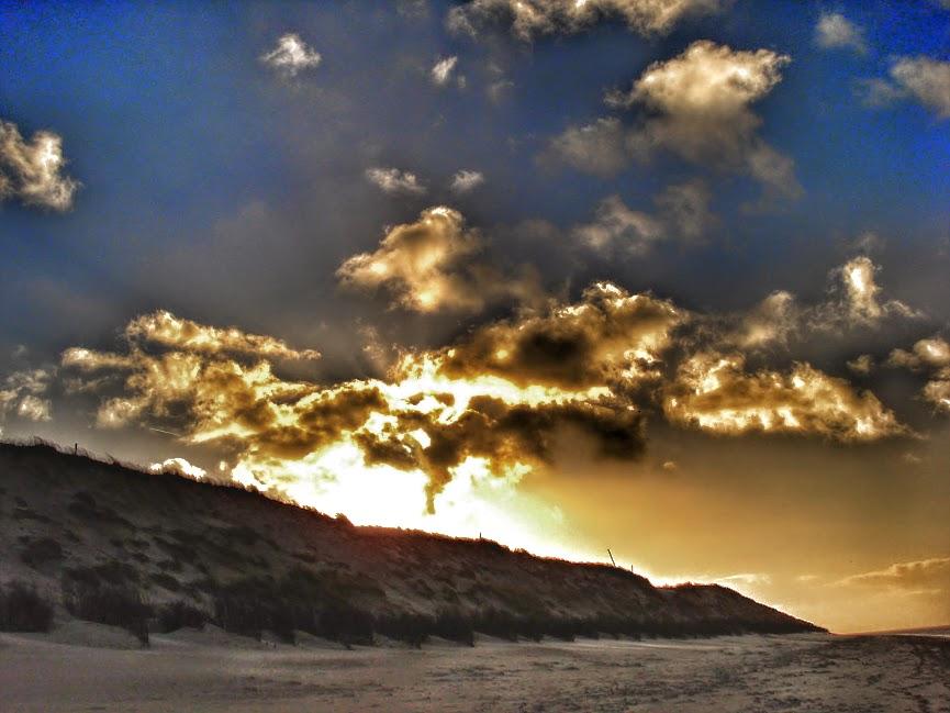 Unendliche Weiten - der Himmel über Spiekeroog Heiligabend 2014