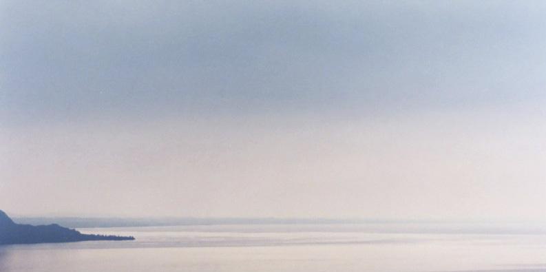 Unendliche Weiten versunken im Nebel