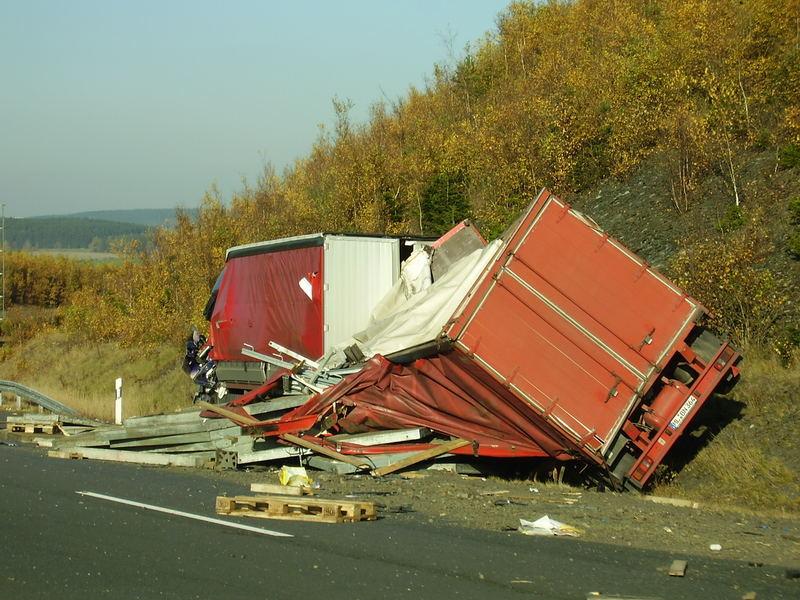 Unfall auf der A9