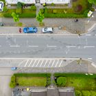 Unfallstelle nach dem illegalen Autorennen vom Ostermontag