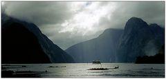 Unglaubliche Stimmung im Milford Sound