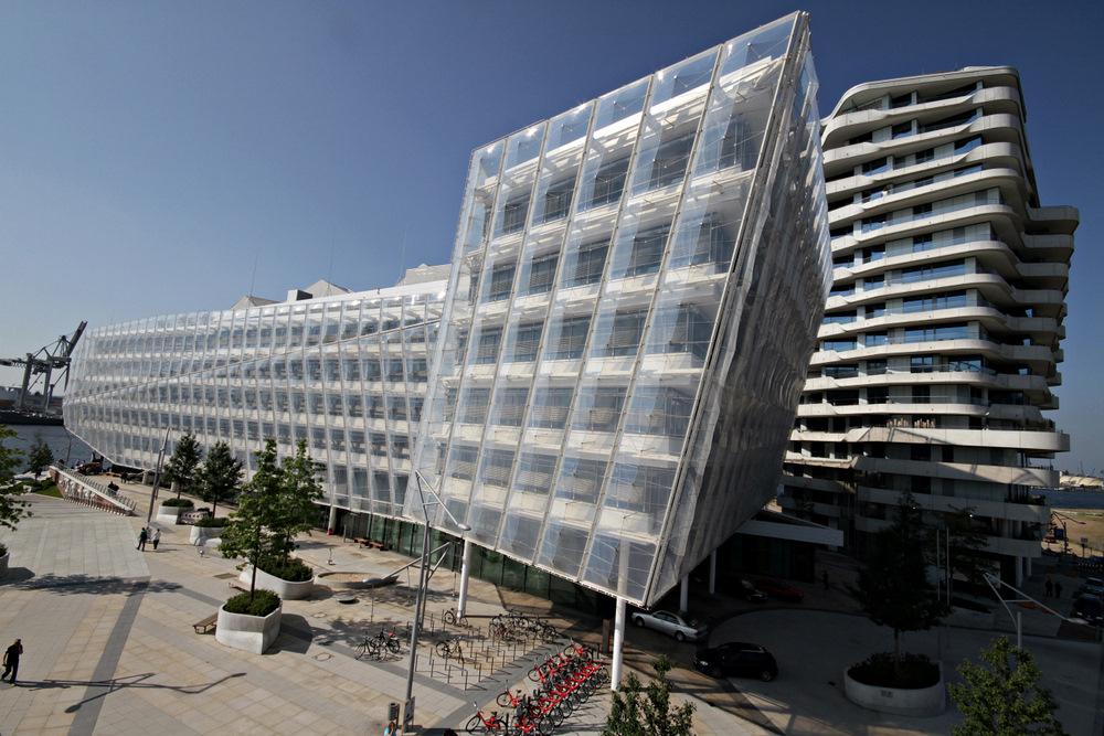 Unilever Haus in der Hafencity