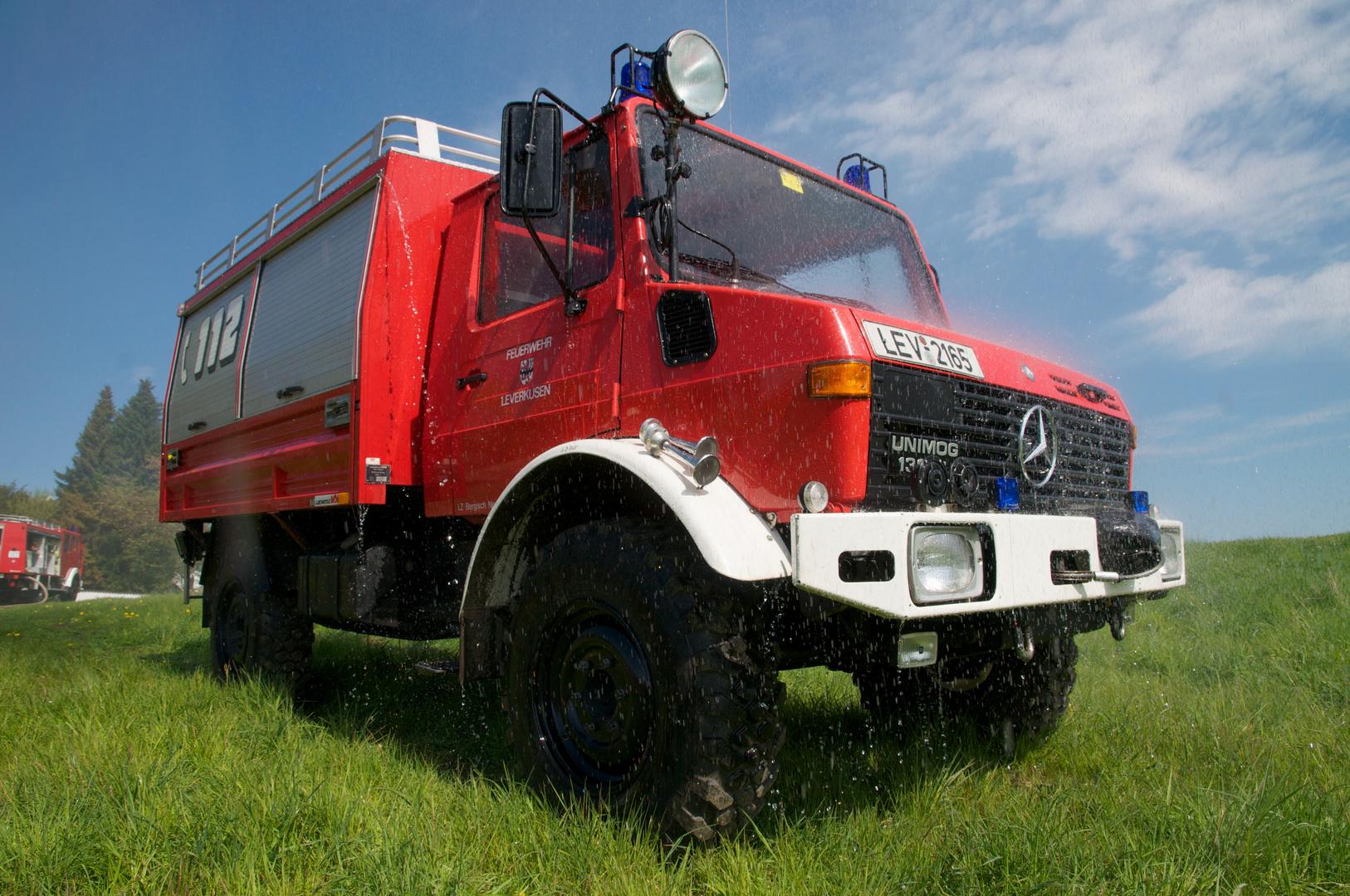 Unimog der Freiwilligen Feuerwehr