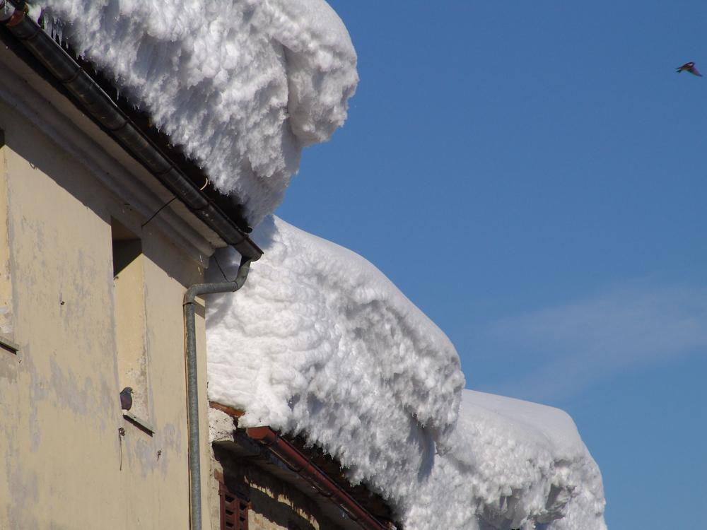 Un'incredibile nevicata!