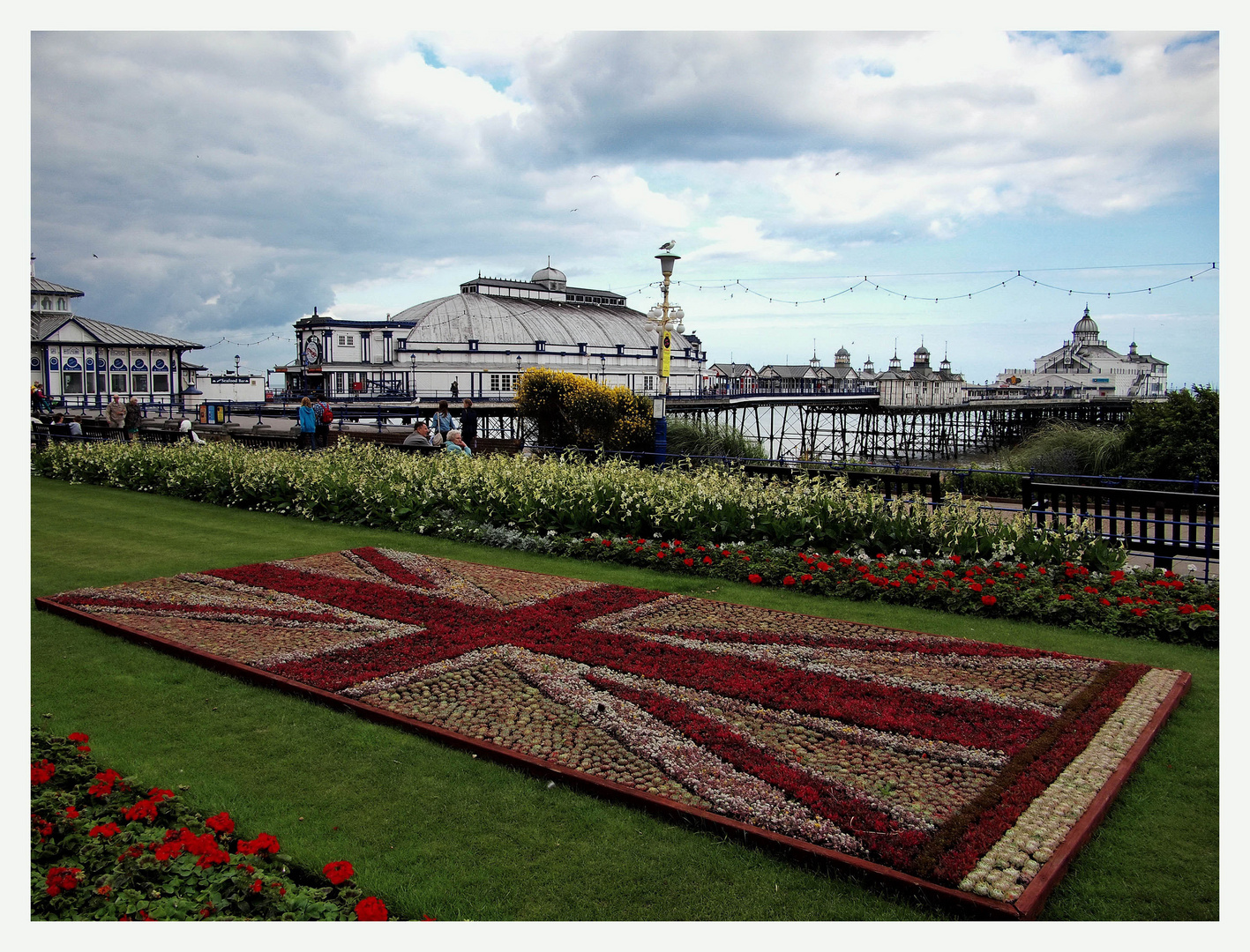 Union Jack at Eastbourne Pier